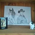 Birgit L. schickte mir dieses schöne Foto von Ihrem Pummelpony. Vielen Dank für dein Vertrauen!