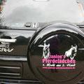 Und noch ein Auto mit meiner Werbung :-)