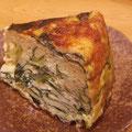 小松菜の和風スパニッシュオムレツ