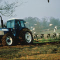 Ford TW 35 Allradtraktor mit Pflug (Quelle Classic Tractor Magazine)