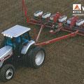 AGCO White 6175 Traktor mit Sämaschine (Quelle: AGCO)