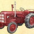 Fahr D60L Traktor (Quelle: SDF Archiv)