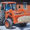 Kubota L4310 Allradtraktor mit Frontlader (Quelle: Kubota)