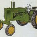 John Deere Model B Traktor (Quelle: John Deere)