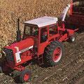 IHC Farmall Hydro 100 Traktor mit Kabine (Quelle: Hersteller)
