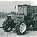 Hürlimann H-372 Traktor mit Kabine (Quelle: SDF Archiv)