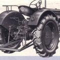 Hanomag R19 Traktor Heckansicht (Quelle: Hersteller)