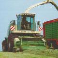 Krone BigX V8 (Quelle: Krone)