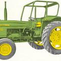 John Deere Lanz 710 Traktor (Quelle: John Deere)