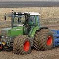 Fendt Farmer 312 mit auspuff auf der Motorhaube (Quelle: AGCO Fendt)
