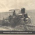 Hanomag R40 Holzgas Traktor