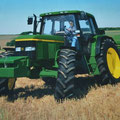 John Deere 6210 Allradtraktor (Quelle: John Deere)