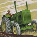 John Deere Model D Traktor technische Daten (Quelle: John Deere)