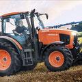Kubota M105GX-IV Traktor (Quelle: Kubota)