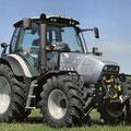 Lamborghini R6.135 VRT Traktor auf Deutz K400 TTV Basis (Quelle: SDF Archiv)