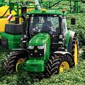 John Deere 6150R Allradtraktor (Quelle: John Deere)
