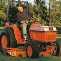 Kubota B2150 Traktor (Quelle: Kubota)