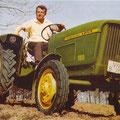 John Deere Lanz 100 Traktor (Quelle: John Deere)