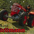 Hürlimann D115A Allradtraktor (Quelle: SDF Archiv)