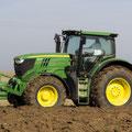 John Deere 6190R Allradtraktor (Quelle: John Deere)