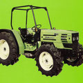 Hürlimann H-372 Traktor mit Überrollbügel (Quelle: SDF Archiv)