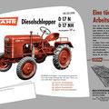 Fahr Traktor D17 (Quelle: Fahr)
