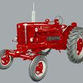 IHC McCormick Farmall B450 Traktor (Quelle: Hersteller)
