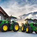 John Deere 6110MC und 6110RC Traktoren (Quelle: John Deere)