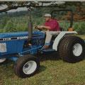 Ford Shibaura 1715 Traktor (Quelle: CNH)