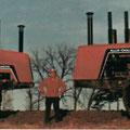 Allis chalmers 4W-305 und 4W-220 (Quelle: AGCO)