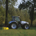Lamborghini R6.165S Allradtraktor auf Agrotron Basis (Quelle: SDF Archiv)