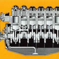 Fendt Favorit 612 SL Motor (Quelle: AGCO Fendt)