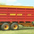 Schuitemaker Siwa 200 Häckselwagen (Quelle: Schuitemaker)