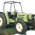 Hürlimann H-362 Traktor mit Überrollbügel (Quelle: SDF Archiv)