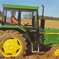 John Deere 1160 Traktor mit Kabine (Quelle: John Deere)