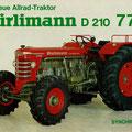 Hürlimann D210A Synchromatic Allradtraktor (Quelle: SDF Archiv)