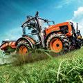Kubota M105GX-III Traktor (Quelle: Kubota)