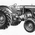Lamborghini DL 45 Traktor (Quelle: SDF Archiv)