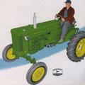 John Deere 40 Traktor (Quelle: John Deere)