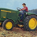 John Deere Lanz 500 Traktor (Quelle: John Deere)