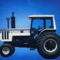 Ford 8401 Traktor gebaut für Australien (Quelle: CNH)