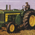 John Deere 820 Diesel Standard Traktor (Quelle: John Deere)
