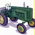 John Deere Model M Traktor technische Daten (Quelle: John Deere)