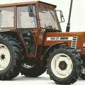 Fiat 566 DT Allradtraktor mit Kabine (Quelle: CNH)