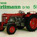 Hürlimann D110 Traktor (Quelle: SDF Archiv)