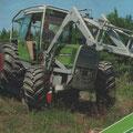 Fendt Farmer 311 LSA Forsttraktor (Quelle: AGCO Fendt)