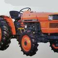 Kubota L295 Traktor (Quelle: Kubota)