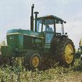 John Deere 4640 Traktor ohne Allradantrieb (Quelle: John Deere)