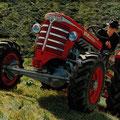 Hürlimann D200 SA Allradtraktor (Quelle: SDF Archiv)