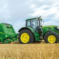 John Deere 6130M Traktor (Quelle: John Deere)